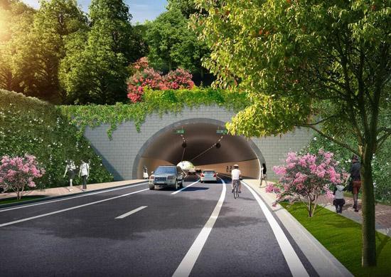 梧州高新区二期(生物医药产业园)市政基础设施工程隧道工程全面贯穿