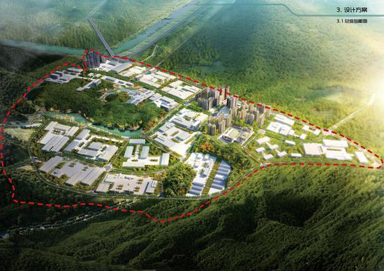 梧州生物医药产业园市政基础设施工程场平工程基本完工