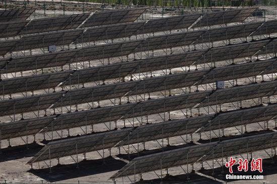 新疆乌恰县:光伏扶贫电站助力巩固脱贫成果