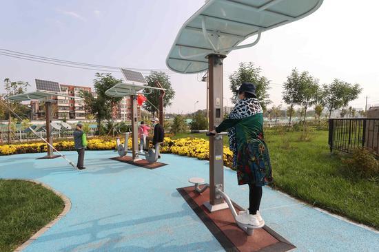都市休闲游又添新去处 红桥区两处公园国庆正式开园迎客