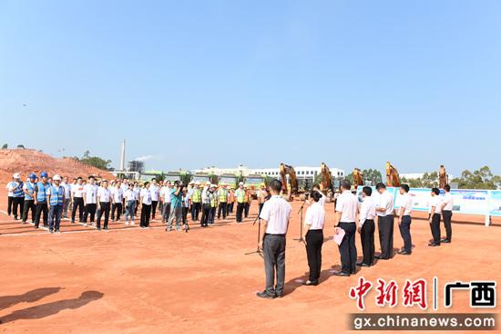 南宁六景工业园区启动产城开发及配套建设项目百日冲刺行动