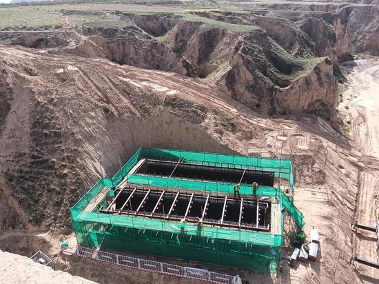 固海揚水工程續寧夏灌溉新發展