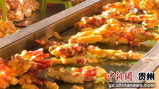 惠水县涟江街道长征村生姜洗姜场有效带动群众增收