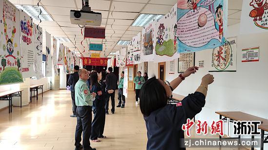 旺旺集团杭州基地大健康活动现场。 兰舒 摄
