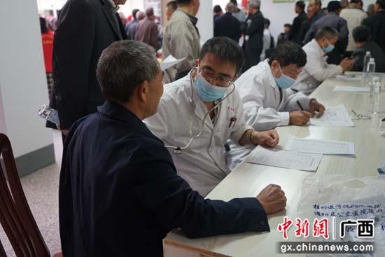桂林灌阳县灌阳镇举办免费体检活动 关爱退役军人