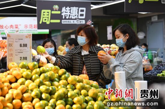 贵阳:国庆过后市民消费热未消