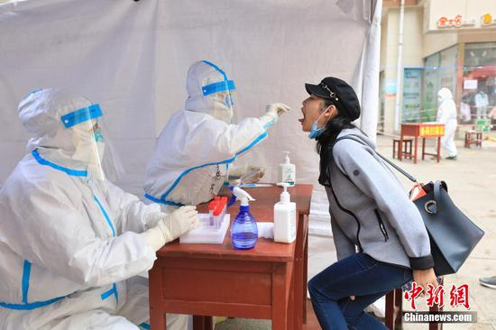 贵州遵义中心城区开展第三轮核酸检测