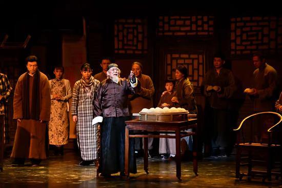 中国国家话剧院《四世同堂》再度来津