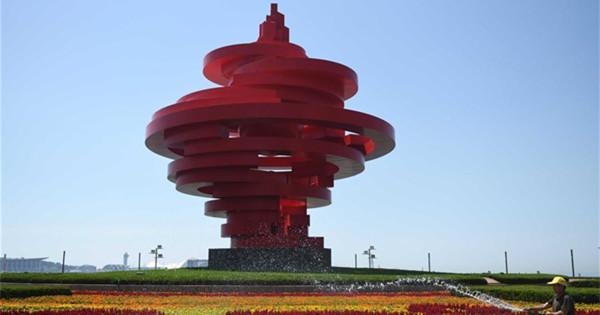 Scenery of SCO summit host city Qingdao