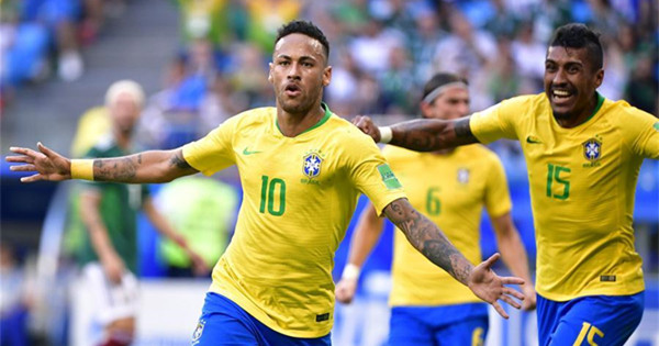 Neymar and Firmino bring Brazil into World Cup quarter-finals