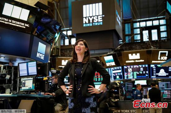NYSE appoints Stacey Cunningham as first female president