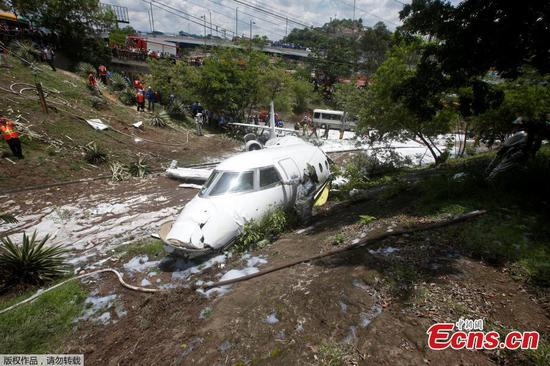 Six injured in plane crash in Honduras