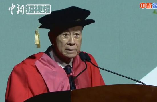 Li Ka-shing encourages youth in last speech as honorary chairman of Shantou University